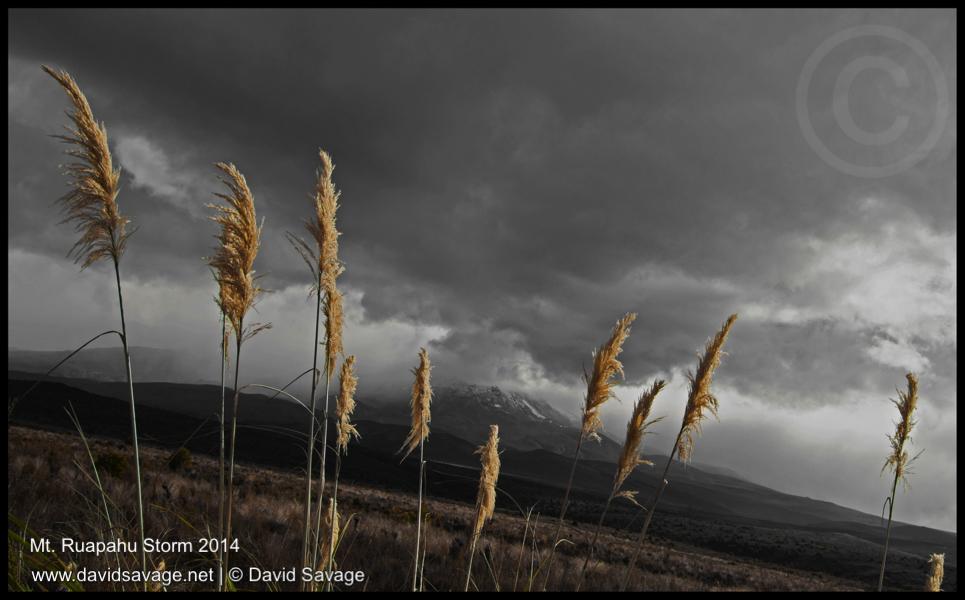 Ruapahu Storm (c) David Savage